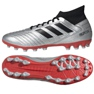 Football boots adidas Predator 19.3 Ag M F99989 black, gray / silver silver