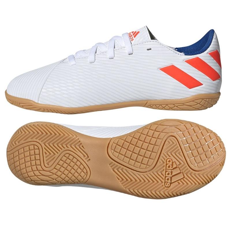 Indoor shoes adidas Nemeziz Messi 19.4 In Jr F99928 white multicolored