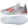Football boots adidas X 19.1 Tf M G25752 red, gray / silver silver