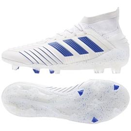 Football boots adidas Predator 19.1 Fg M BC0550 white white