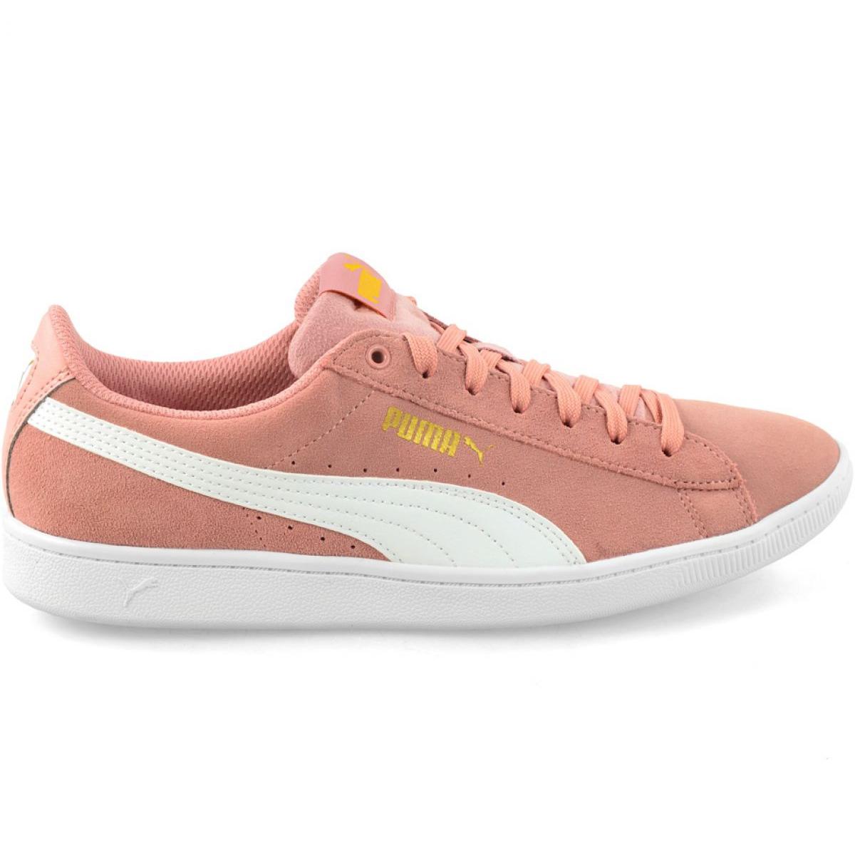 Shoes Puma Vikky Peach Beige-Puma White