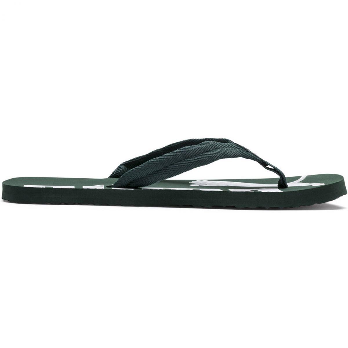 en soldes fcd02 9dc88 Green Slippers Puma Epic Flip v2 M 360248 27