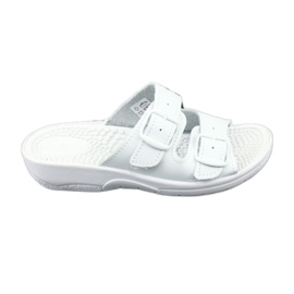 Flip flops white health Comfooty Nadia