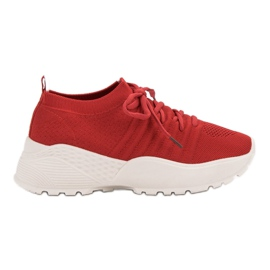 Slotted VICES Sneakers red