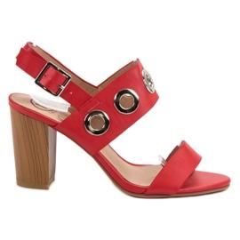Kylie Red High Heels