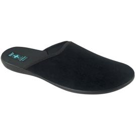 Grey Slippers Adanex men's slippers gray