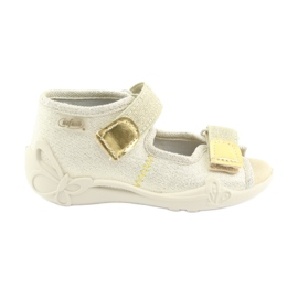 Befado yellow children's shoes 342P003