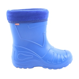 Blue Befado children's shoes galoskie-chabrowy 162P106