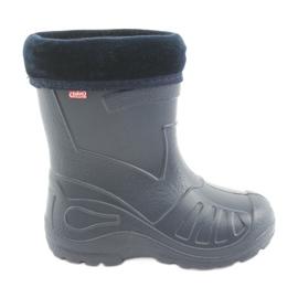 Navy Befado children's shoes kalosz- garnet 162P103