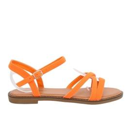 Women's sandals orange WL255 Orange