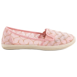 Pink Sneakers Slip On VICES