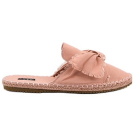 Built-in VICES slippers pink