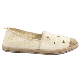 Suede Espadrilles VICES yellow
