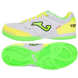 Indoor shoes Joma Top Flex 920 In TOPW.920.IN white, green, yellow white