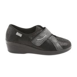 Black Befado women's shoes pu 032D002