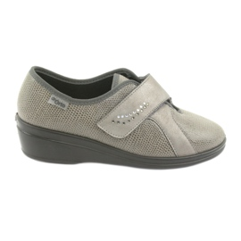 Grey Befado women's shoes pu 032D003