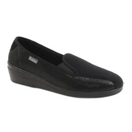 Black Befado women's shoes pu 034D002