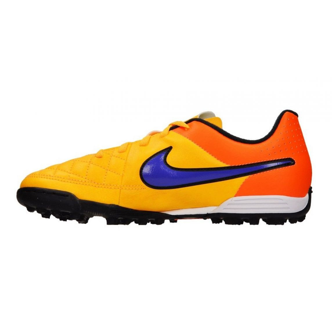 Nebu Competitivo Misericordioso  Football shoes Nike Tiempo Rio Ii Tf Jr 631524-858 multicolored orange -  ButyModne.pl
