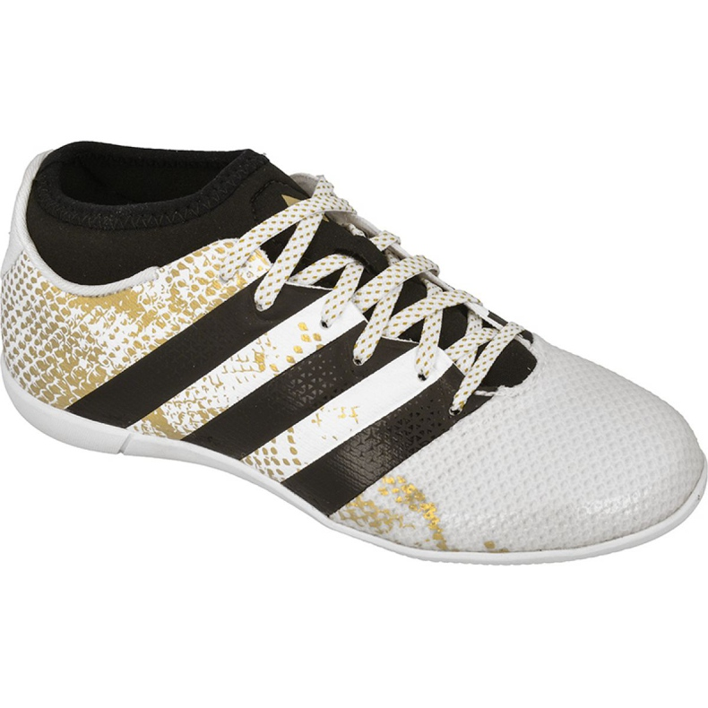 Indoor shoes adidas Ace 16.3 Primemesh In Jr AQ3427 white white
