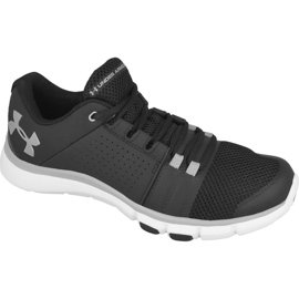 Under Armour black Under Armor Strive 7 M training shoes. 1295778-001