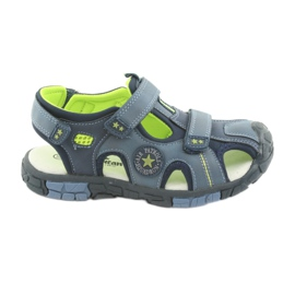 American Club Children's sandals with an American DR02 leather insert