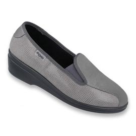 Grey Befado women's shoes pu 034D003