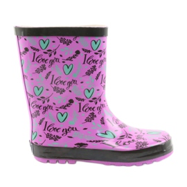 American Club American galoshes. Hearts