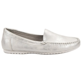 Goodin grey Comfortable moccasins