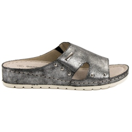 Goodin Comfortable Slippers grey