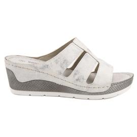 Goodin white Flip-flops