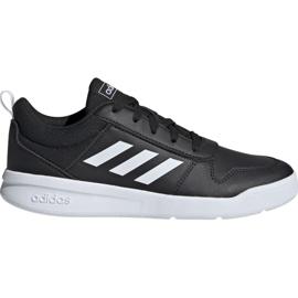 Black Adidas Tensaur K Jr. EF1084 shoes