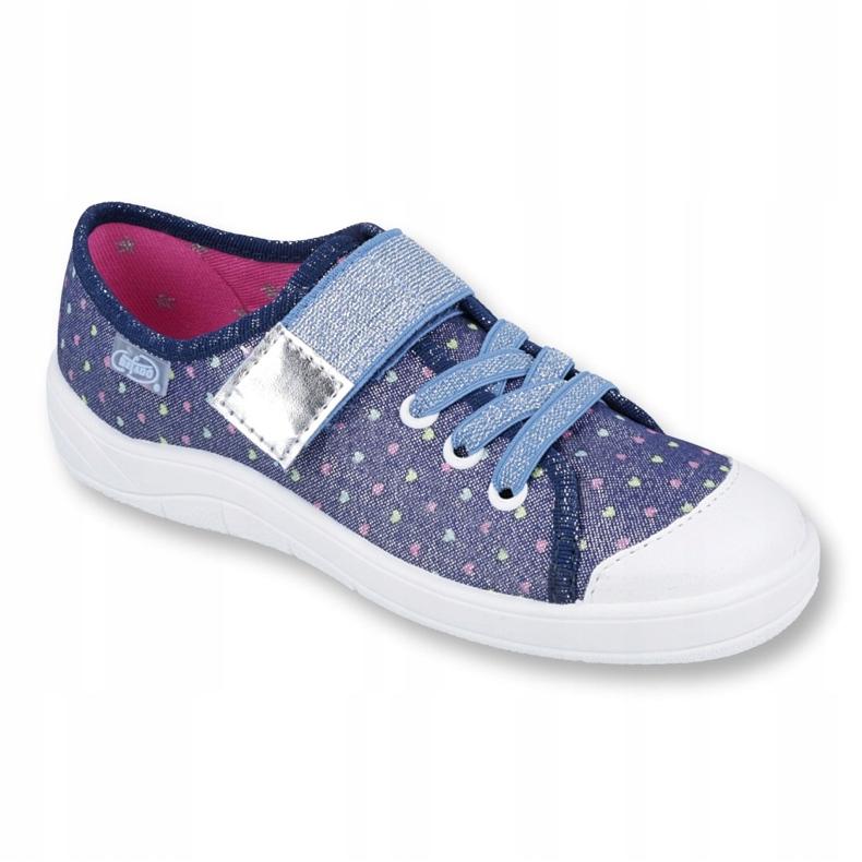 Befado children's shoes 251Y140 blue silver multicolored