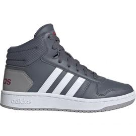 Grey Shoes adidas Hoops Mid 2.0 Jr EE6709