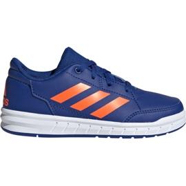 Blue Adidas AltaSport K Jr G27095 shoes
