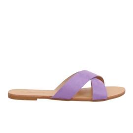 Women's slippers violet 930 Purple