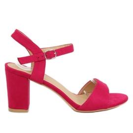 Pink Sandals on the fuchsia FH-3M25 Fuchsia