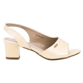 Goodin Elegant Slip-on Sandals yellow