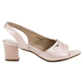 Goodin brown Elegant Slip-on Sandals