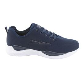 Men's sports ties DK SC235 navy blue