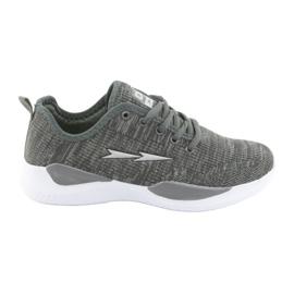 Grey Sport Shoes DK Gray SC235