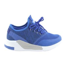 Men's sports shoes DK 18470 royal blue