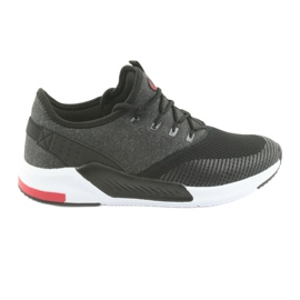 Men's sports shoes DK 18470 black / gray