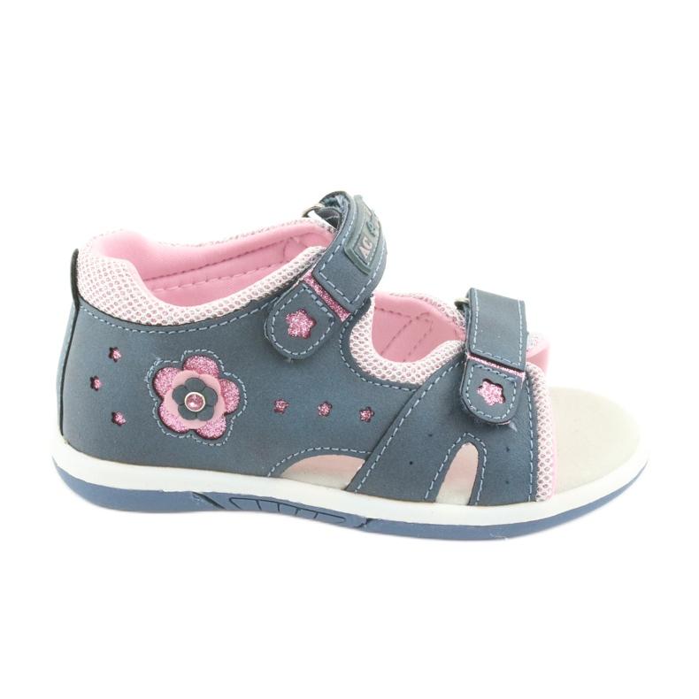Girls' sandals American Club DR20 denim
