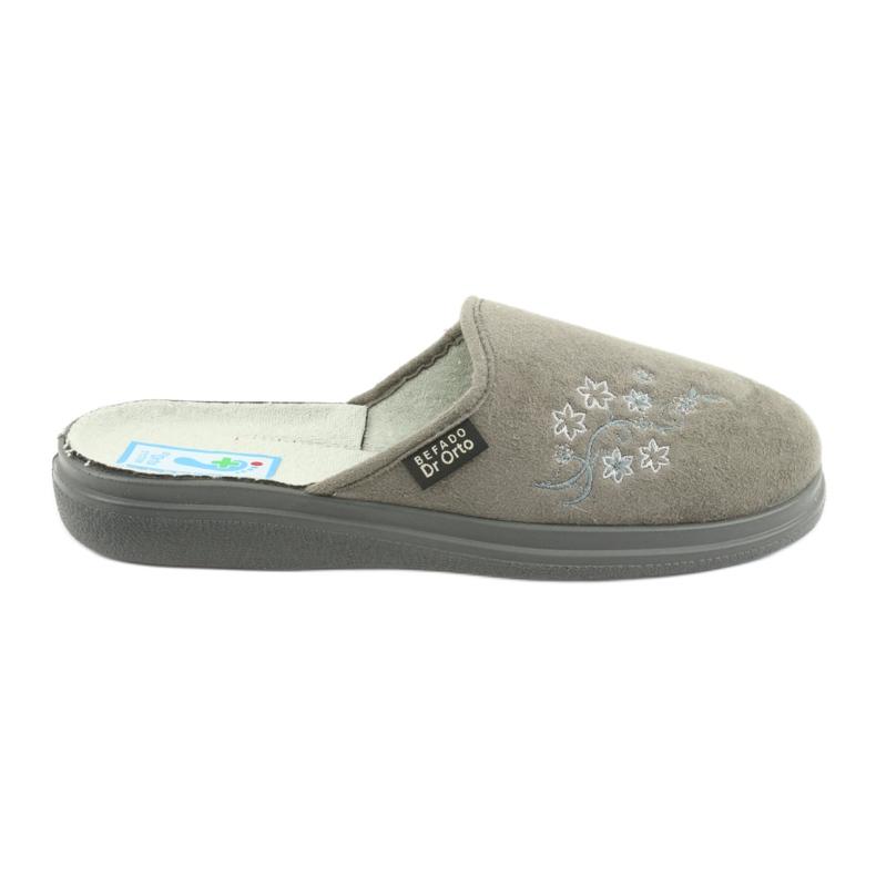 Grey Befado women's shoes pu 132D013
