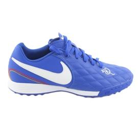 Football shoes Nike Tiempo Legend 7 Academy 10R Tf M AQ2218-410 blue