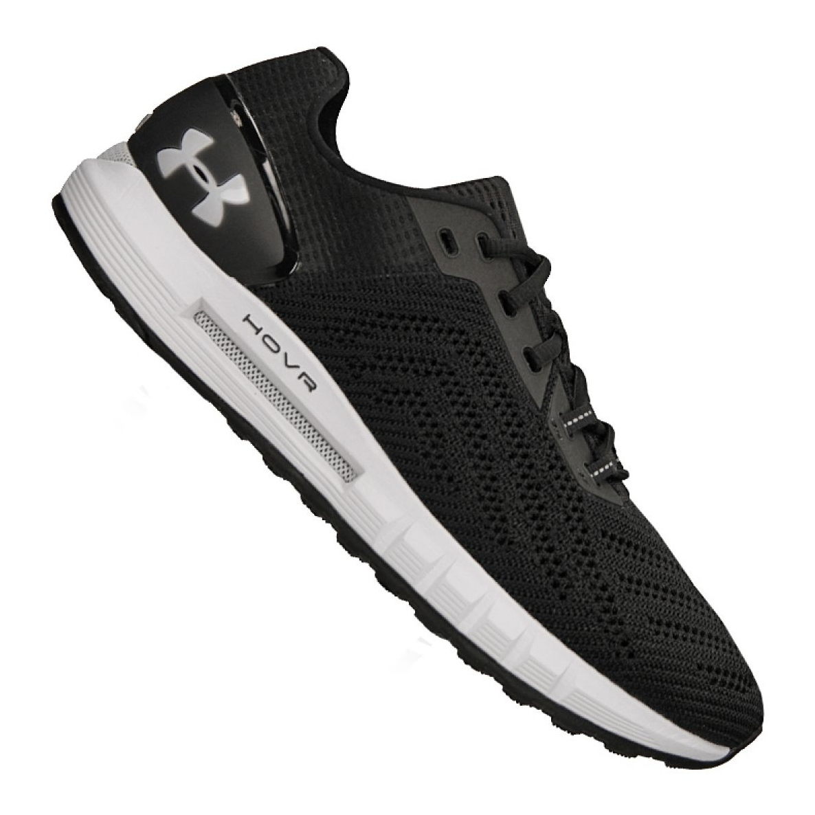 sports shoes f4f9f 3c850 Under Armour black Under Armor Hovr Sonic 2 M running shoes. 3021586-002