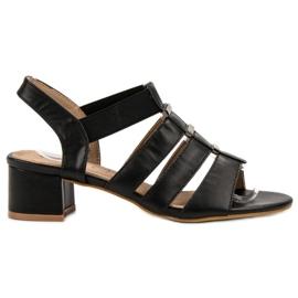 Evento black Slip-on High Heels