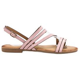 Primavera Classic Pink Sandals