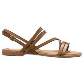 Primavera Classic brown sandals
