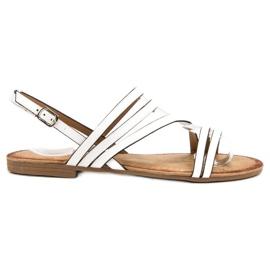 Primavera Classic White Sandals